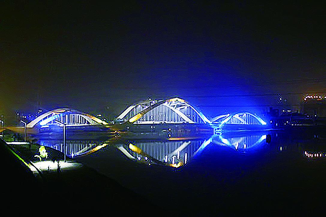 Bangladest bridge lighting project